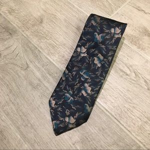 Christian Dior Monsieur Abstract Floral Tie